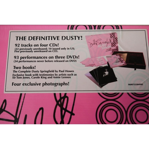 1001 - CD/DVD - Dusty Springfield Goin' Back 'The Definitive' Box Set, ltd edn no. 01558 sealed