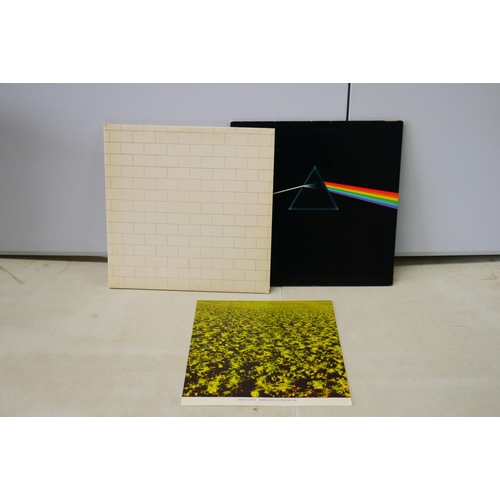 1054 - Vinyl - Two Pink Floyd LPs to include The Wall SHDW911 and Dark Side of The Moon SMAS11163 with 2 x ...