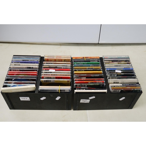 1062 - CDs - Around 60 CD singles mainly Rock, featuring many Meat Loaf, Shed Seven, Levellers, Blonde, Cas...