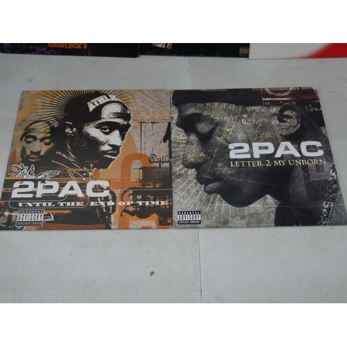 1094 - Vinyl - 2 Pac - Me Against The World LP on Interscope 92399 with heavy but non-feelable scratch to o...