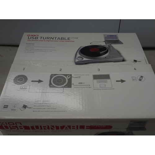 752 - Stereo Equipment - ION USB Record player, with original box