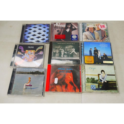 965 - CDs - Over 50 Rock, Pop CDs to include Bob Dylan, The Who, Mumford & Sons etc, vg condition