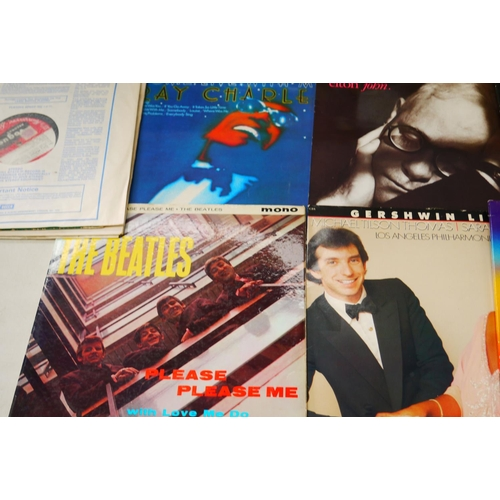 966 - Vinyl - Around 20 LPs and 78s to include The Beatles Pleas Please Me PMC1202 mono, The Rolling Stone...