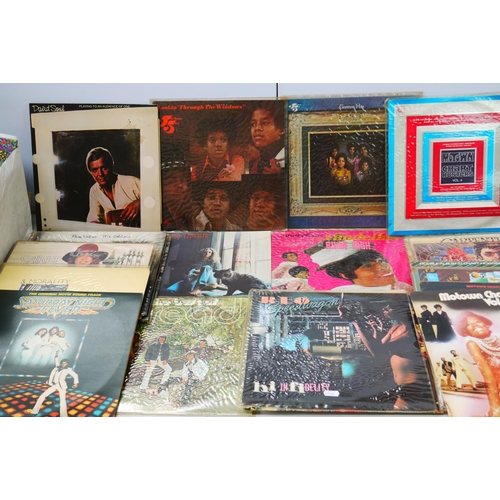 968 - Vinyl - Collection of Pop and Rock LPs and 7