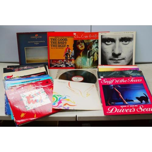 969 - Vinyl - Around 45 LPs & 12