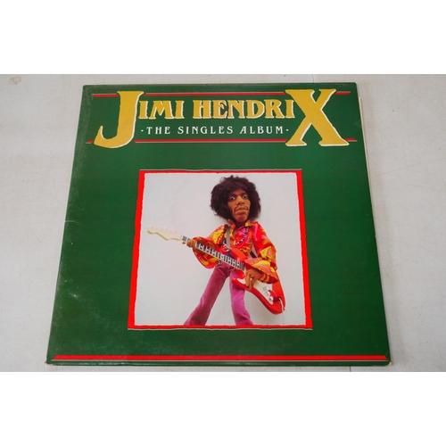 993 - Vinyl - 7 Jimi Hendrix LP's to include Isle Of Wight (2310 139), Rainbow Bridge (K44159), The Essent...