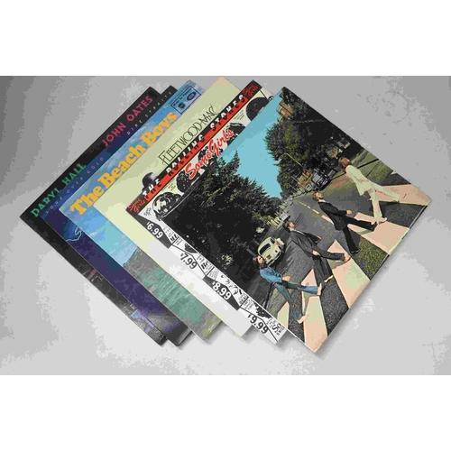618 - Vinyl - Around 55 Rock, Pop and other LPs to include Magna Carta on Vertigo (2nd press), Rolling Sto...