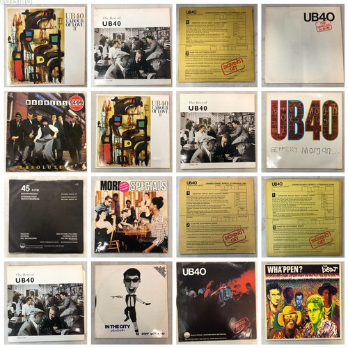 610 - Vinyl - Around 25 Ska & 2 Tone LPs to include Madness and The Specials, sleeves vg, vinyl vg+