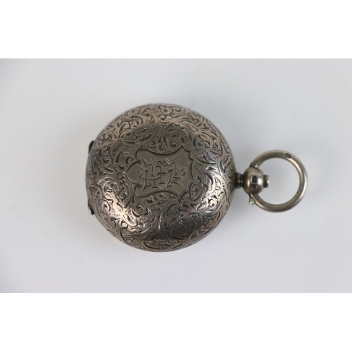 265 - A fully hallmarked sterling silver sovereign case, maker marked for Alfred Wigley, assay marked for ...
