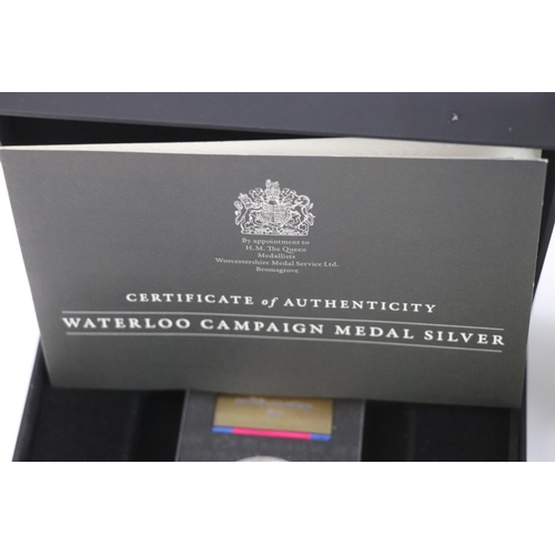445 - A cased Tristan Da Cunha gold Plated silver proof 250th Anniversary of the birth of Lord Nelson £5 c...