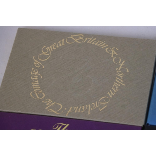 464 - A collection of eleven Royal Mint coinage of Great Britain and Northern Ireland year sets to include...
