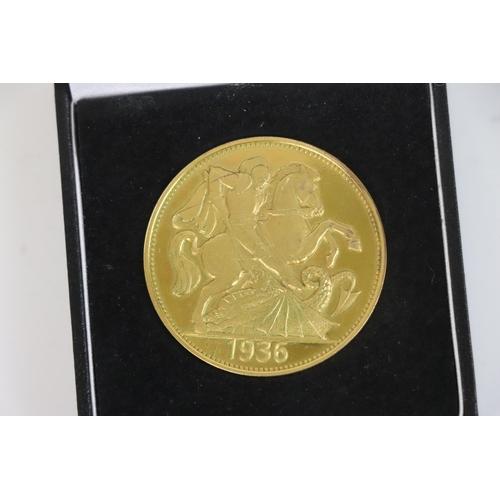 496 - A 1936 King Edward VIII £5 Coin, Reproduction / Fantasy Coin.