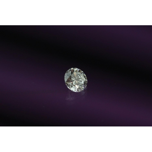 14 - Loose round brilliant cut diamond accompanied by GIA certificate 15951220, stated weight 0.52 carat,...