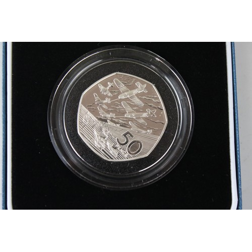491 - Royal Mint 2012 Silver Proof Queens Diamond Jubilee Commemorative £5 Coin. Mint and Cased Condition.