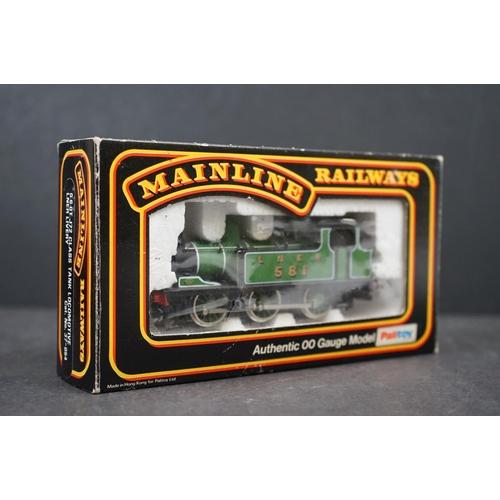 25 - Three boxed OO gauge locomotives to include 2 x Mainline (37-054 0-6-0T J72 Class Tank Locomotive LN...