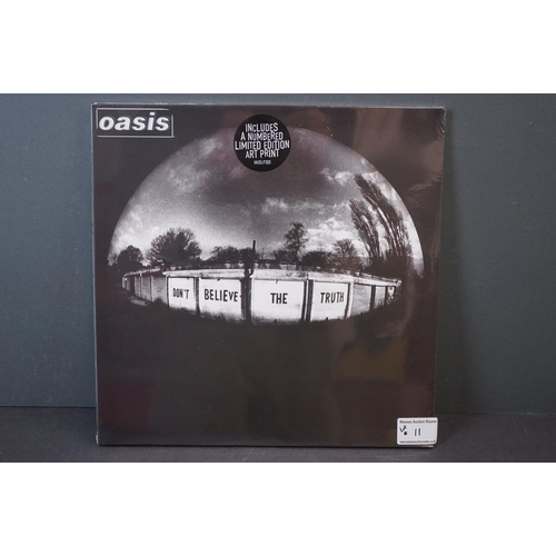 11 - Vinyl - Oasis Don't Believe The Truth LP on Big Brother RKIDLP3OX, with ltd edn Art Print, sealed