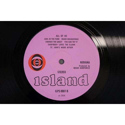 14 - Vinyl - Nirvana All Of Us LP on Island ILPS 9087 with pink label, orange/black circle logo, stereo, ...