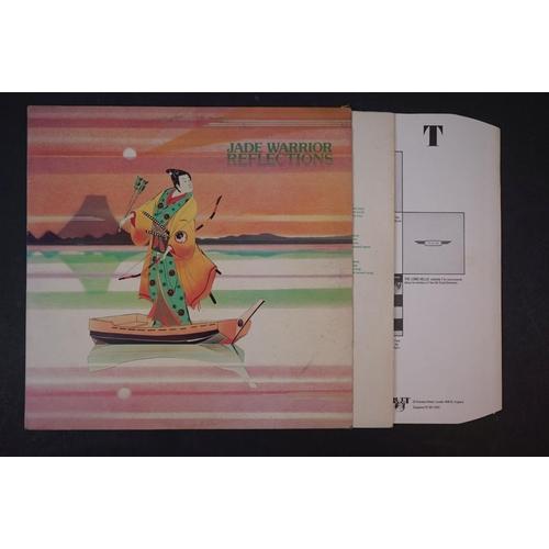 19 - Vinyl - Four Jade Warrior LPs to include Last Autumn Dream LP on Vertigo Deluxe 6360079 gatefold sle...
