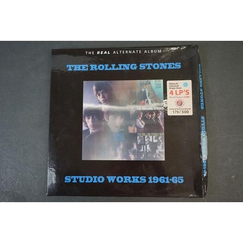 1011 - Vinyl - ltd edn The Real Alternate Album Rolling Stones Studio Works 1961-65 4 LP / 2 CD Box Set, he...