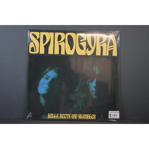 105 - Vinyl - Spirogyra Bells, Boots and Shambles LP ltd edn reissue on Tapestry TPT230, ltd to 500 copies...