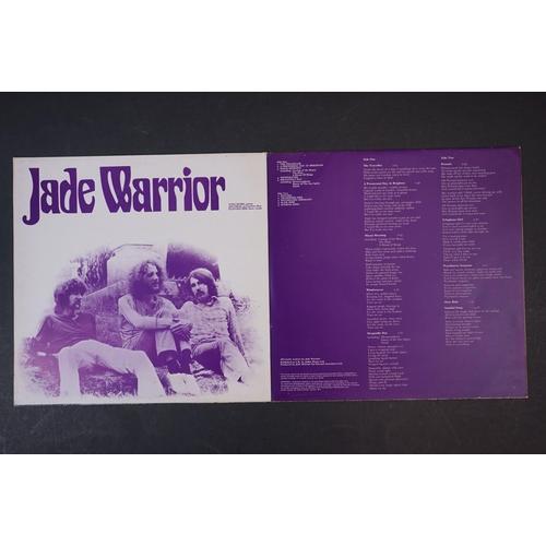 18 - Vinyl - Jade Warrior self titled LP on Vertigo VP 6360033  gatefold sleeve, swirl inner sleeve, viny...