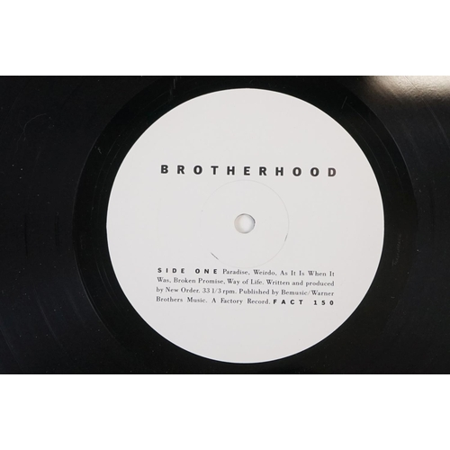 53 - Vinyl - Two New Order LPs to include Movement FACT50 and Brotherhood FACT150 plius Depeche Mode Spea...