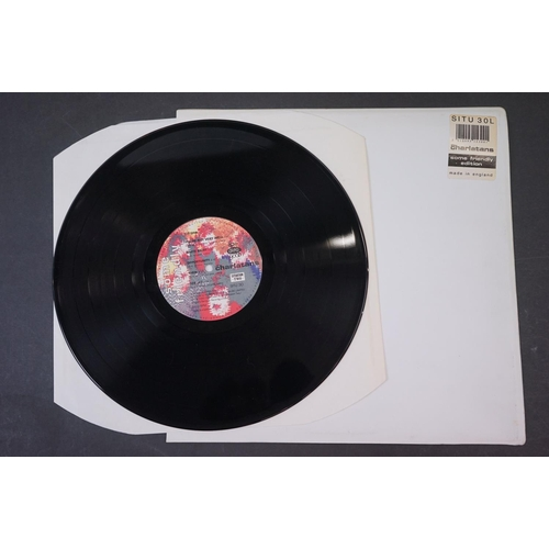54 - Vinyl - The Charlatans Some Friendly LP with td edn white sleeve, with inner sleeve, vinyl ex, sleev...