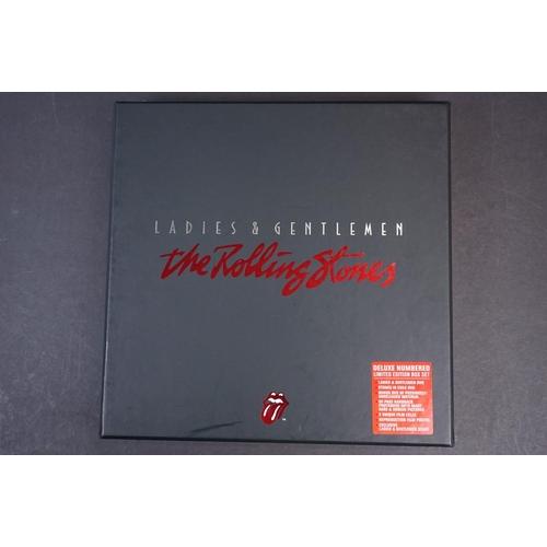 1023 - DVD - ltd edn The Rolling Stones Ladies & Gentlemen Deluxe Numbered Box Set (07886) ex