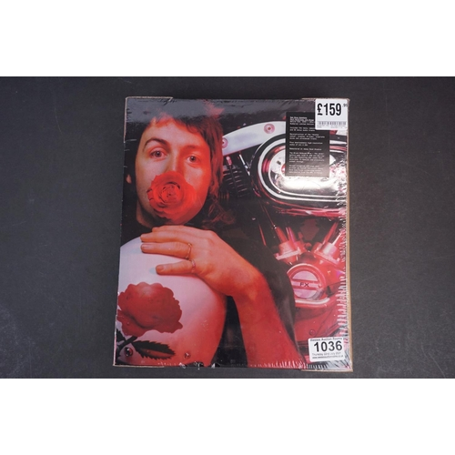 1036 - CD / DVD / Bluray - Paul McCartney and Wings Red Rose Speedway deluxe numbered ltd edn box set, 0405...