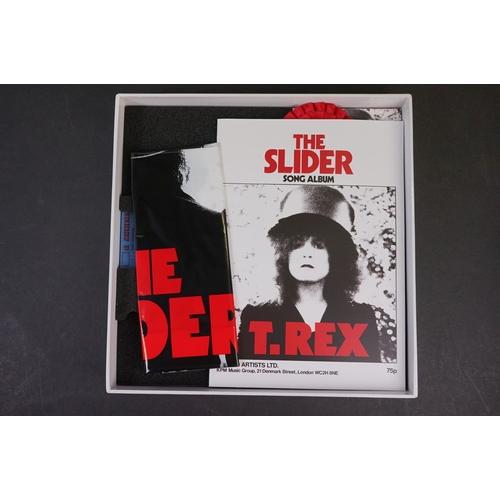 1045 - CD / Vinyl / DVD - ltd edn T Rex / The Slider 40th Anniversary Box Set BLN5001-40 0704/2000 ex