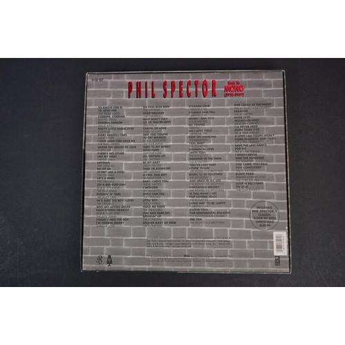 1056 - CD - Phil Spector Back To Mono (1958-1969) 4 CD Box Set vg