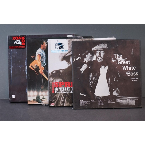 1061 - Vinyl - Four Bruce Springsteen Box Sets to include Capitol Theater, Passiac, NJ Sept 19, 1978 (seale...