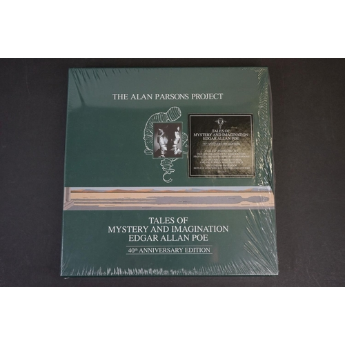 1071 - Vinyl / CD / Bluray DVD - The Alan Parsons Project Tales of Mystery and Imagination Edgar Allan Poe ...