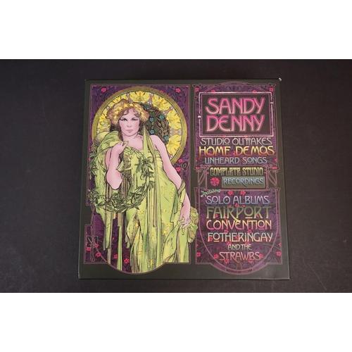 1074 - CD - Sandy Denny Studio Outtakes - Home Demos - Unheard Songs - Complete Studio Recordings Box Set, ...