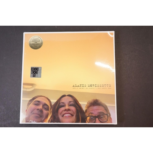 511 - Vinyl - Six Record Store Day releases to include Alanis Morissette Live at London's O2 2020, Toto Li...
