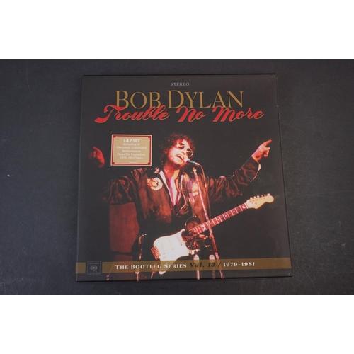1068 - Vinyl - Bob Dylan Trouble No More The Bootleg Series vol 13 1979-1981 4 LP Box Set, ex