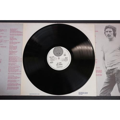 108 - Vinyl - Jimmy Campbell Half Baked LP on Vertigo 6360010, gatefold sleeve, large swirl label, vinyl e...
