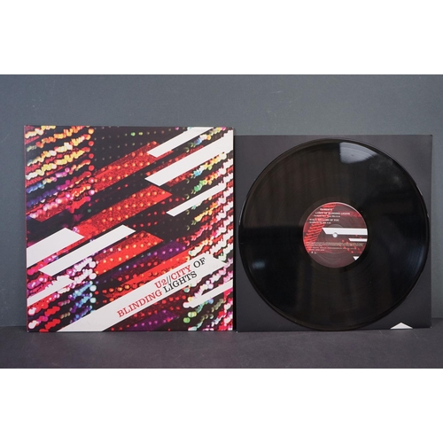 "1101 - Vinyl - U2 - 3 Rare UK Promo Only 12""s. City Of Blind Lights (Island Records, 2005 12IS890DJ) nr min..."