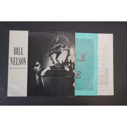 """1104 - Vinyl - New Wave / Synth - 6 Rare UK Original albums / 12""""s to include Gary Numan - Outland (I.R.S.,..."""