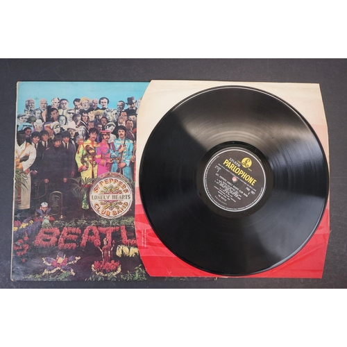 1111 - Vinyl - The Beatles - Sgt. Peppers Lonely Hearts Club Band (Fourth Proof Sleeve). Original UK 1st pr...