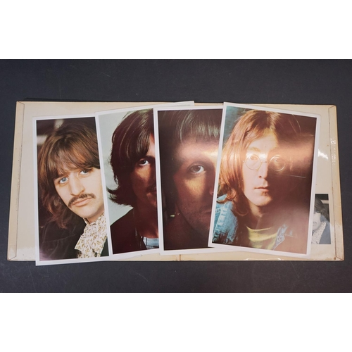 1112 - Vinyl - The Beatles - White Album. Original UK 1st pressing numbered Top Loader and complete Mono co...