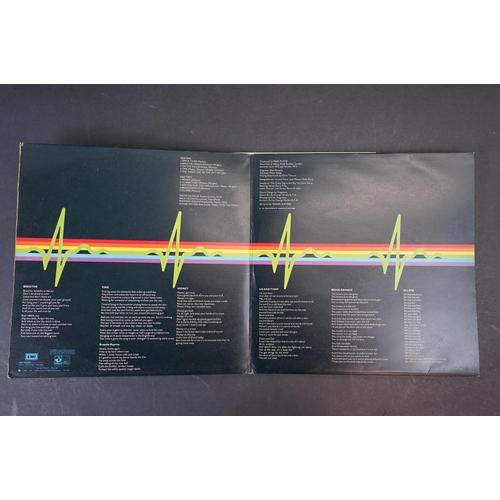 1114 - Vinyl - Pink Floyd - Dark Side Of The Moon, UK 1973 Promo Sample copy, + 2 Posters + 2 Stickers. Ori...