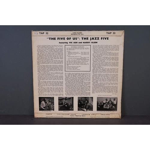 1141 - Vinyl - Post Bop Jazz / Modal Jazz - The Jazz Five Featuring Vic Ash and Harry Klein - The Five Of U...