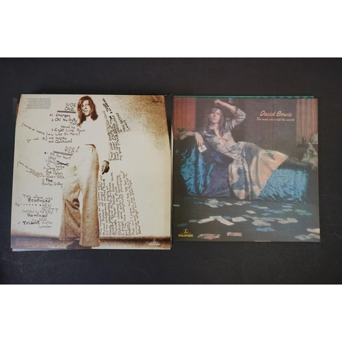 251 - Vinyl - David Bowie Five Years 1969-1973 Box Set, complete and ex, a bit of squash & wear to outer b...