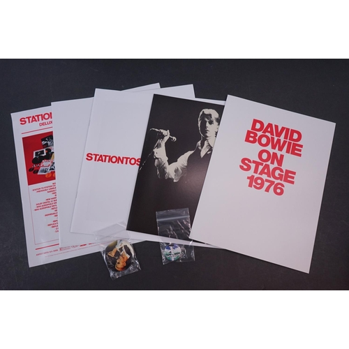252 - Vinyl / CD / DVD - David Bowie Station To Station Deluxe Box Set, vg