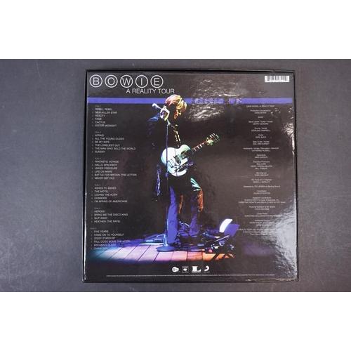254 - Vinyl - David Bowie A Reality Tour 3 LP Box Set, LC00162, Ex