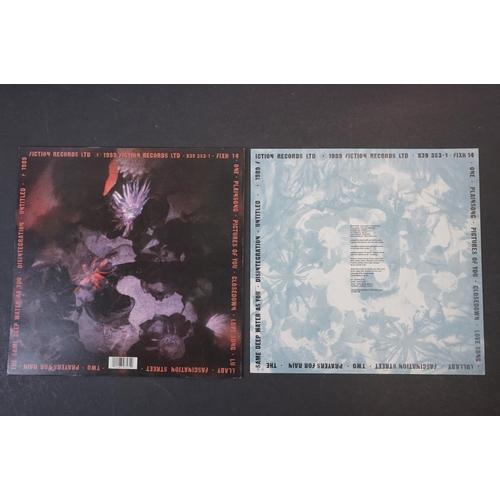 50 - Vinyl - The Cure Disintegration LP on Fiction Records FIXH14 with inner, vg+ with light marks