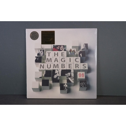 503 - Vinyl - The Magic Numbers self titled deluxe Anniversary reissue 2 LP and bonus 7
