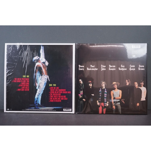 509 - Vinyl - Elton John self titled remastered LP (sealed) plus a Freddy Mercury Never Boring LP 06025774...