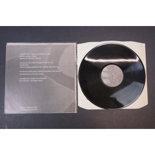 51 - Vinyl - Five The Cure LPs to include Wish FIXH20, The Head on The Door Front Door FIXH11, Seventeen ...
